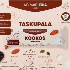 Voimaruoka Taskupala Kookos 3-Pack