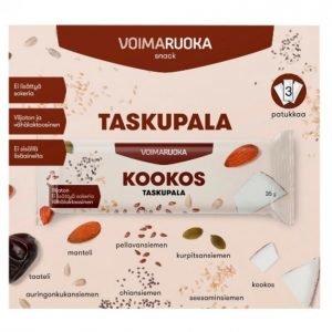 Voimaruoka Taskupala Kookos 3 X 35 G