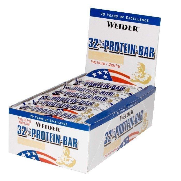 Weider 24 x 32% Protein-Bar 60 g Vanilla
