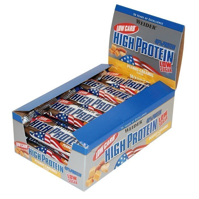 Weider 25 x Low Carb High Protein Bar 50 g