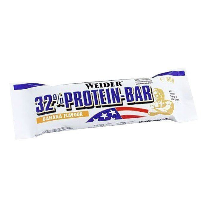 Weider 32% Protein-Bar 60 g Cookies & Cream