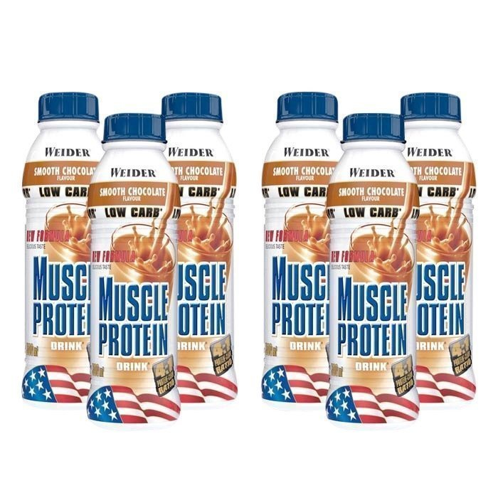 Weider 6 x Muscle Protein Drink 500 ml
