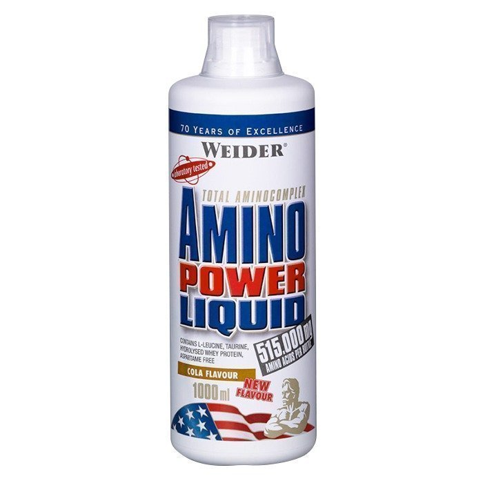 Weider Amino Power Liquid 1000 ml Cola