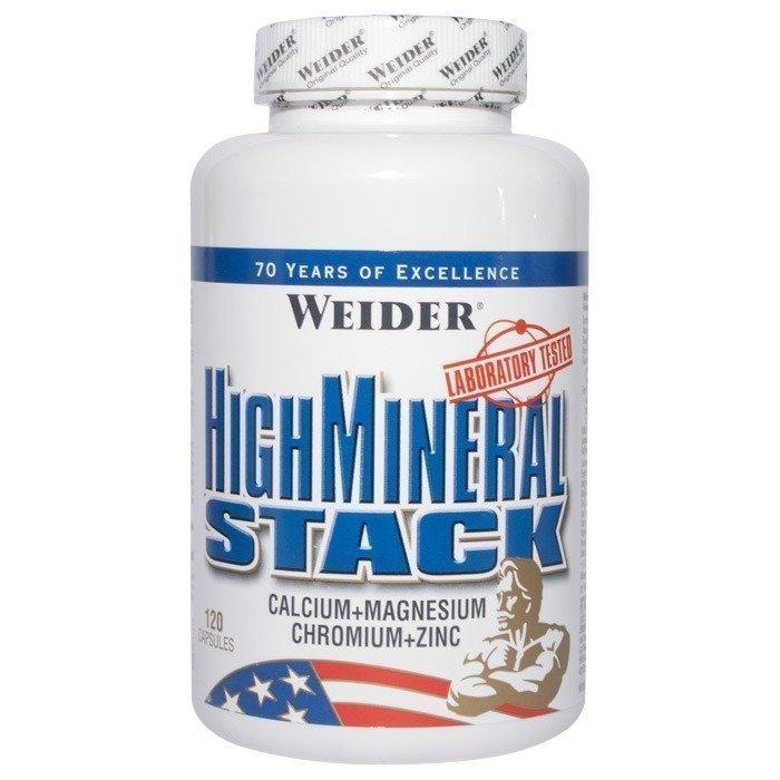 Weider High Mineral Stack 120 kapselia