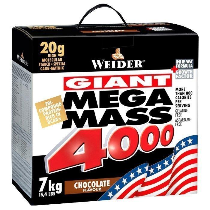Weider Mega Mass 4000 7 kg White Chocolate Pralin