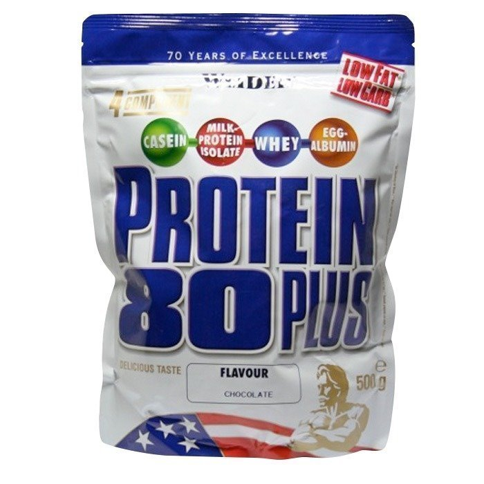 Weider Protein 80+ zip bag 500g