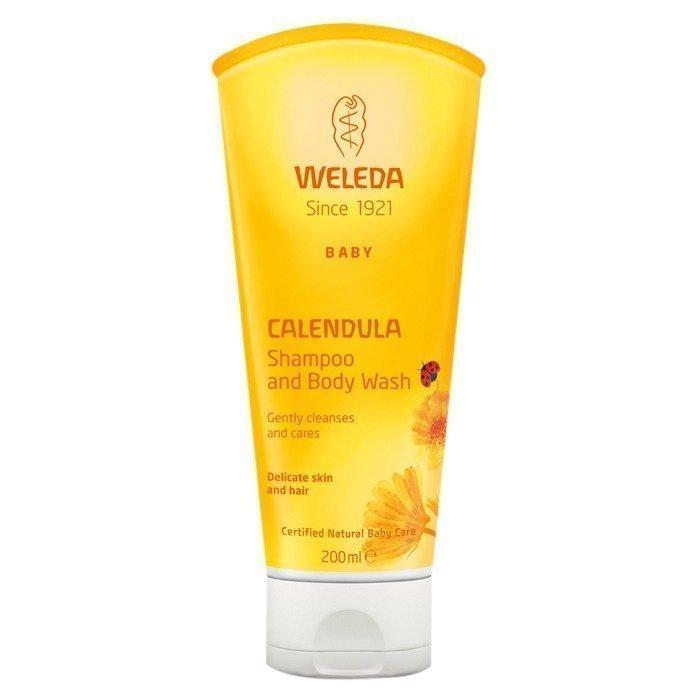 Weleda Calendula Shampoo & Body Wash 200 ml