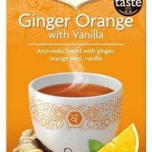 Yogi Tea Inkivääri-Appelsiini-Vanilja tee