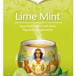 Yogi Tea Lime Mint tee
