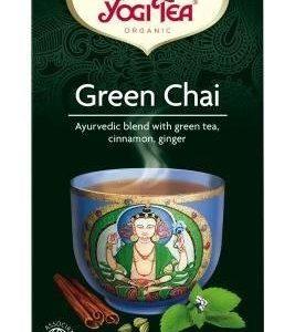Yogitea Luomu Green Chai Tee