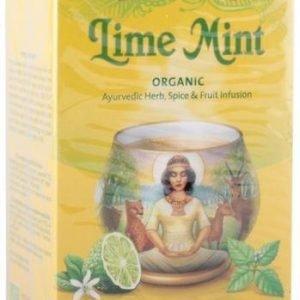 Yogitea Luomu Limetti-Minttutee