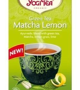 Yogitea Luomu Matcha Lemon Vihreä Tee
