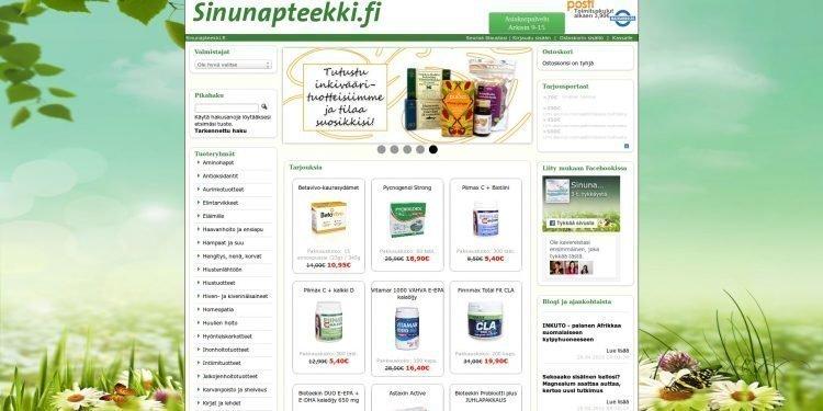 Sinunapteekki.fi